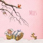 Mies | winter baby roze