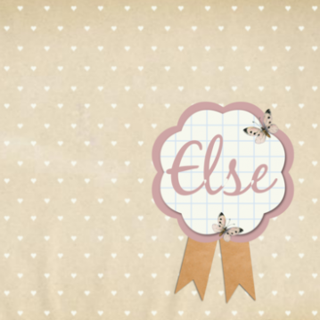 Else | patroon met rozet