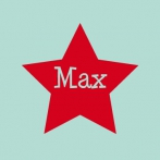 Max | naam in ster