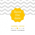 Jasper & Suus | save the date