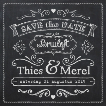 Thies & Merel | save the date