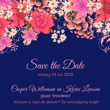 Casper & Karin | save the date