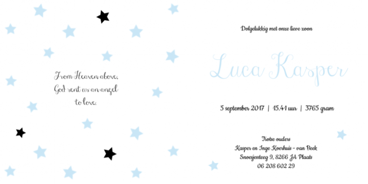 Luca | little star