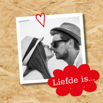 Trouwkaart Liefde is...