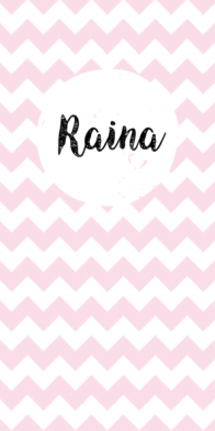 Raina | chevron roze