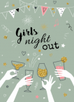 Uitnodiging verjaardag girls night out